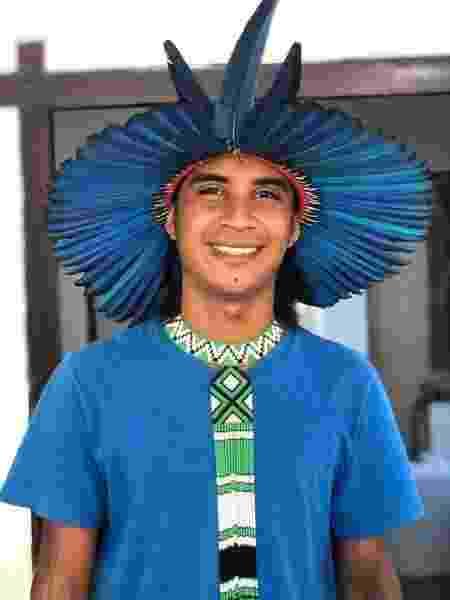 Emerson Pataxó, secretário executivo da Associação de Jovens Indígenas Pataxó - Arquivo pessoal - Arquivo pessoal