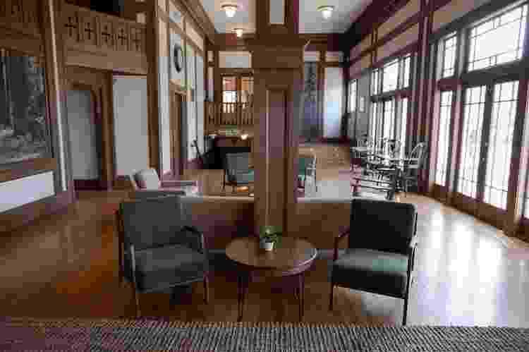 Lounge do hotel Scotia Lodge - Reprodução/Scotia Lodge - Reprodução/Scotia Lodge