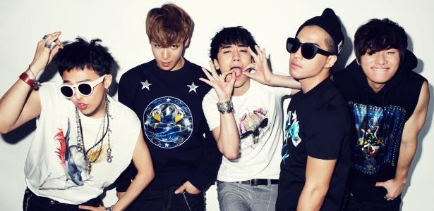A boyband sul-coreana de k-pop Big Bang tem fã-clubes na Argentina e no Chile - Divulgação