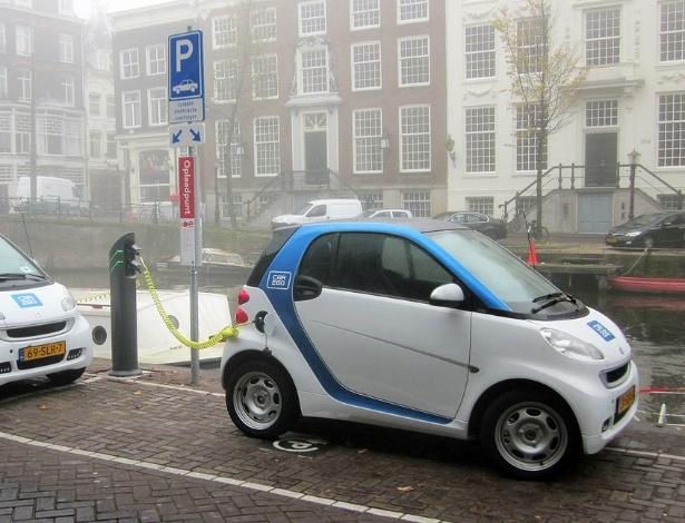 Smart Car2Go: maior empresa do mundo em compartilhamento de carro, da Daimler, cobra aluguel por minutos utilizados; são mais de 1 milhão de usuários na Europa - Divulgação/Mercedes-Benz