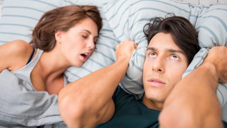 O ronco pode ser um sinal de que o corpo da gestante está inchado demais - Getty Images