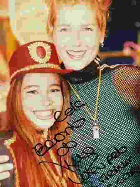 """Marcela Monteiro foi soldadinha do """"Xuxa Park"""" entre 1999 e 2001 - Arquivo pessoal - Arquivo pessoal"""