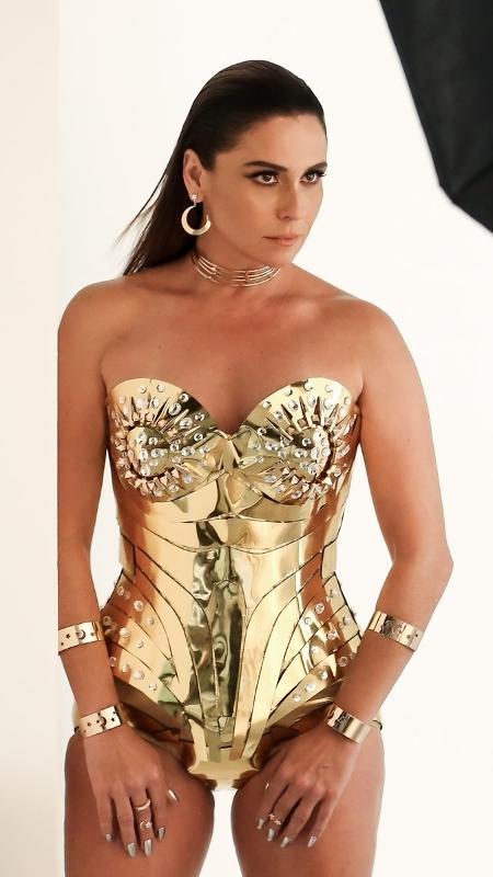 Giovanna Antonelli posa para ensaio de coleção de joias em São Paulo - Manuela Scarpa/Brazil News