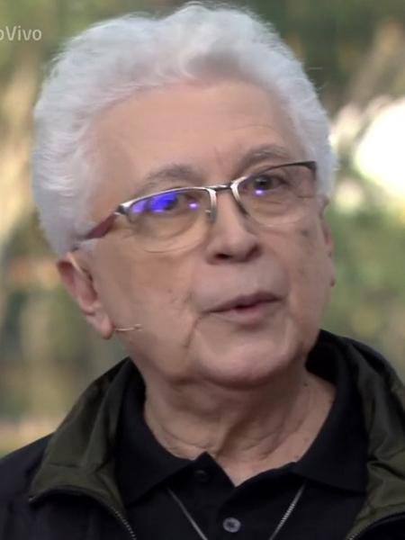 O autor e agora ator Aguinaldo Silva - Divulgação / TV Globo