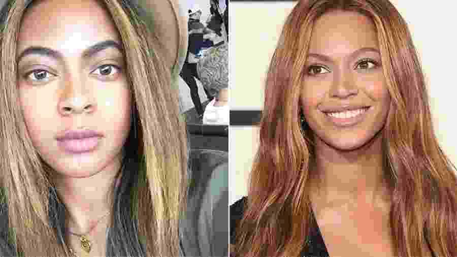 Brittany e Beyoncé: parece ou não? - Rerprodução/Instagram/Getty Images