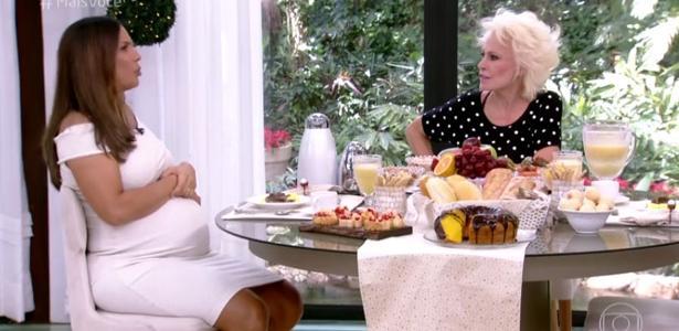 Ana Maria incentiva Ivete a casar e se incomoda com pergunta da cantora