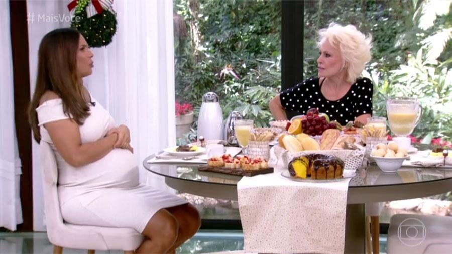 Ana Maria incentiva Ivete a casar e se incomoda com pergunta da cantora - Reprodução/Globo