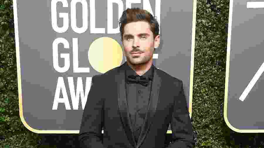 Zac Efron chega ao Globo de Ouro 2018 - Getty Images