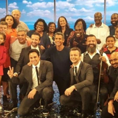 """Marcio Garcia comemora retorno do """"Tamanho Família"""" - Reprodução/Instagram/marciogarcia"""
