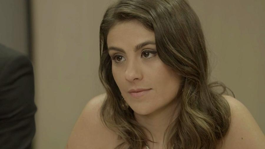 Tônia aceita divórcio, mas não perde a oportunidade de atacar Bruno - Reprodução/Gshow