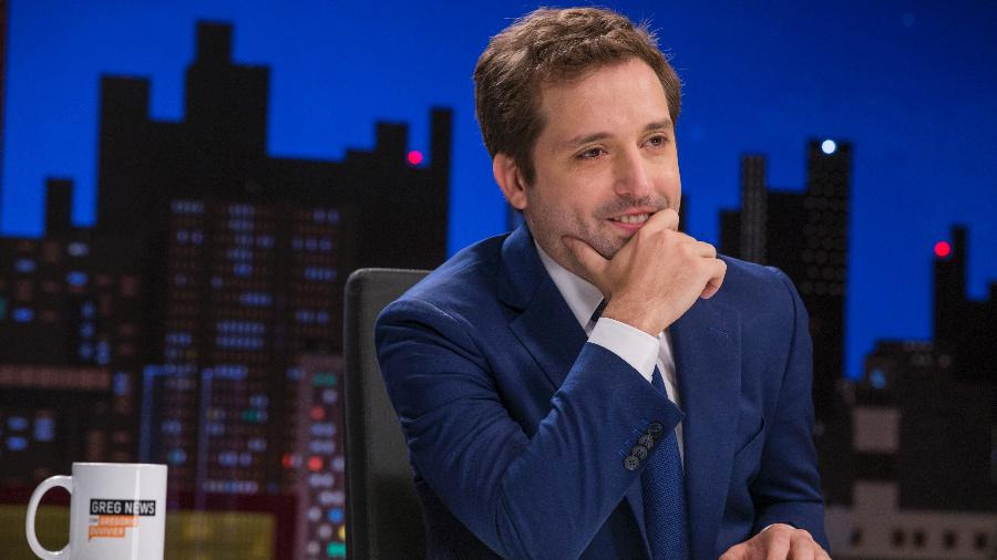 "Gegório Duvivier na segunda temporada do programa ""Greg News"", da HBO - Rogério Resende/HBO"