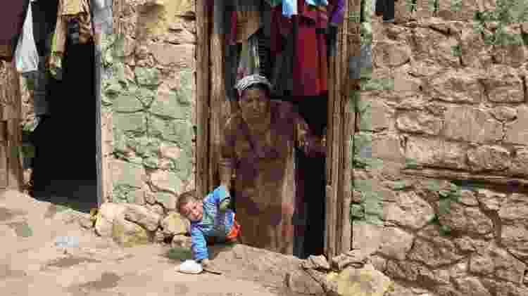 Entrada de residência da Cidade dos Mortos, no Egito - REUTERS/Amr Abdallah Dalsh