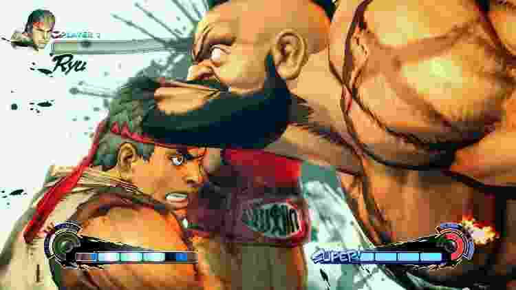Primeira inserção da série principal no visual 3D, Street Fighter IV realçou a série ao estrelato, garantindo boas vendas e críticas, impulsionando ainda o cenário competitivo. - Reprodução