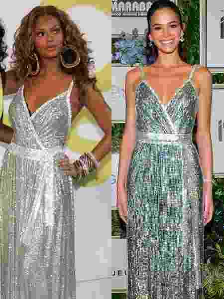 Bruna Marquezine e Beyoncé - Getty Images/Brazil News