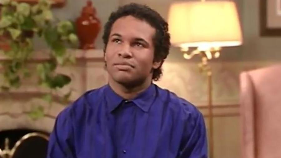 """O ator Geoffrey Owens atua na série """"The Cosby Show"""" - Divulgação"""