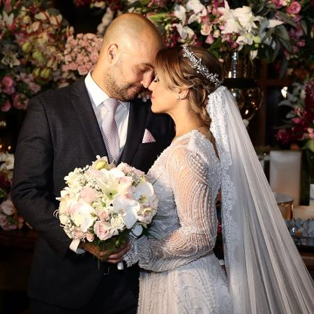 Camilla Camargo se casa com Leonardo Lessa - Manuela Scarpa/Brazil News
