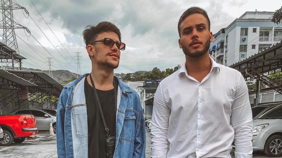 Saulo Poncio posta foto ao lado Jonathan Couto - Reprodução/Instagram