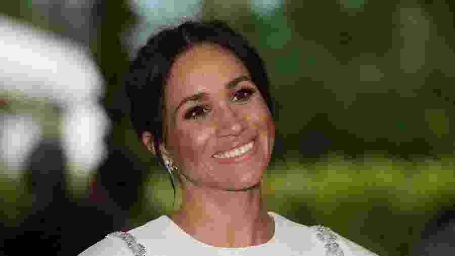 Meghan Markle durante visita a Tonga - Getty Images