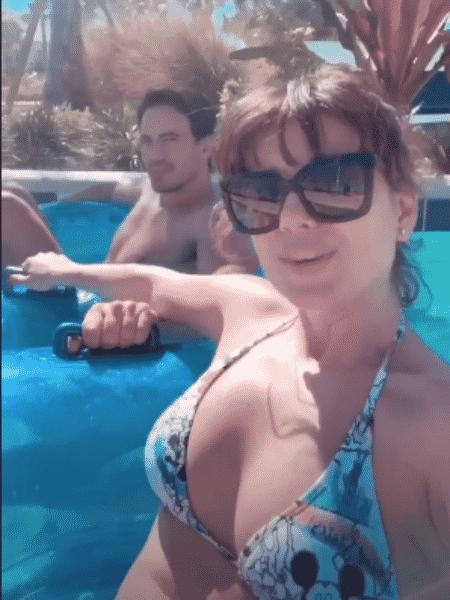 Paula Fernandes e o novo namorado, Gustavo Lyra - Reprodução/Instagram