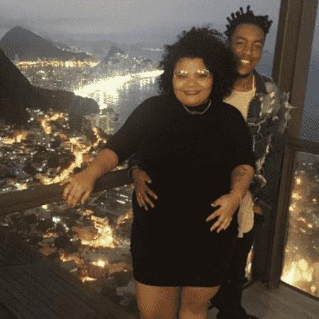 Flora Cruz e Alexandre Nascimento - Reprodução/Instagram