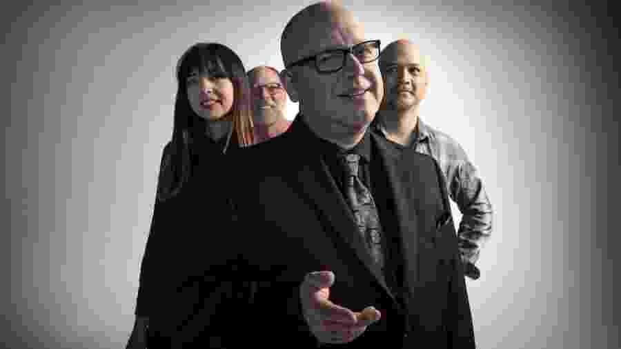 A formação do atual dos Pixies: Paz Lenchantin, David Lovering, Black Francis e Joey Santiago - Travis Shinn/Divulgação