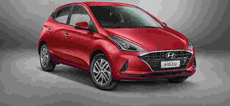 Segredo mal guardado? A própria Hyundai já revelou o visual do novo HB20 - Divulgação