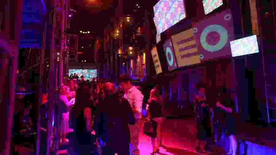 Ecoa estreou em 1º de outubro, e a festa de lançamento foi realizada na última quinta-feira (3) - Luciana Paz/UOL