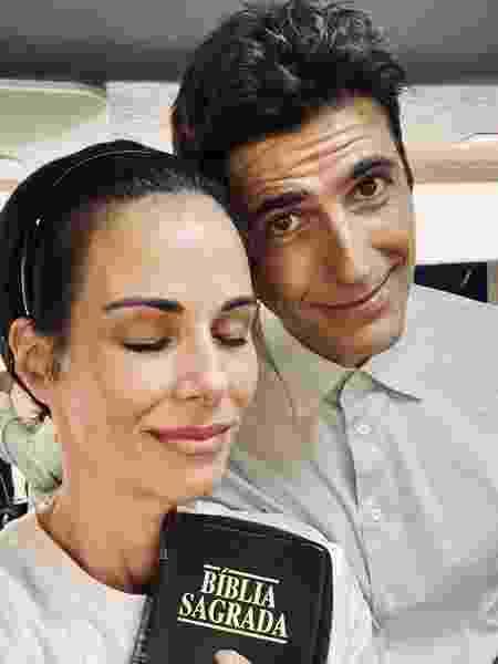 Ana Furtado e Reynaldo Gianecchini - Reprodução/Instagram