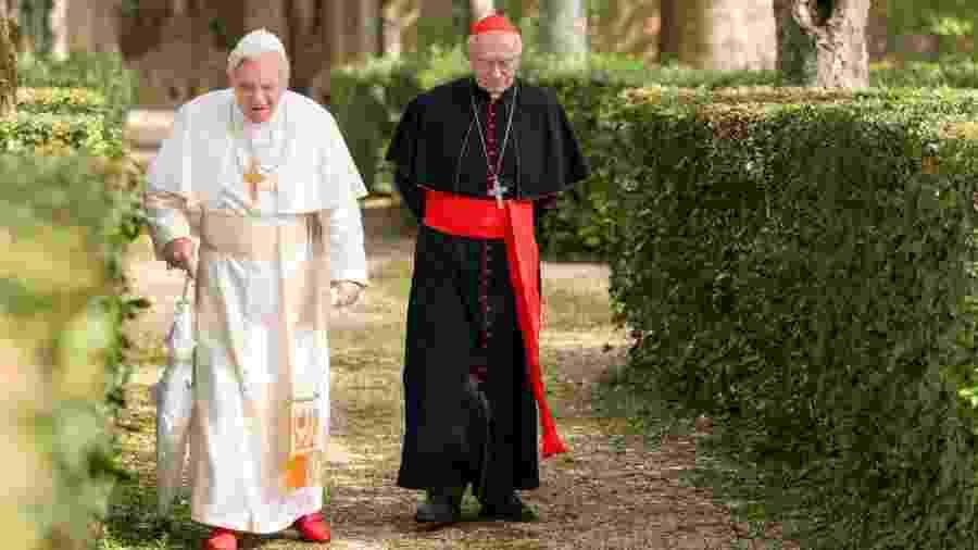 Cena de Dois Papas - Divulgação