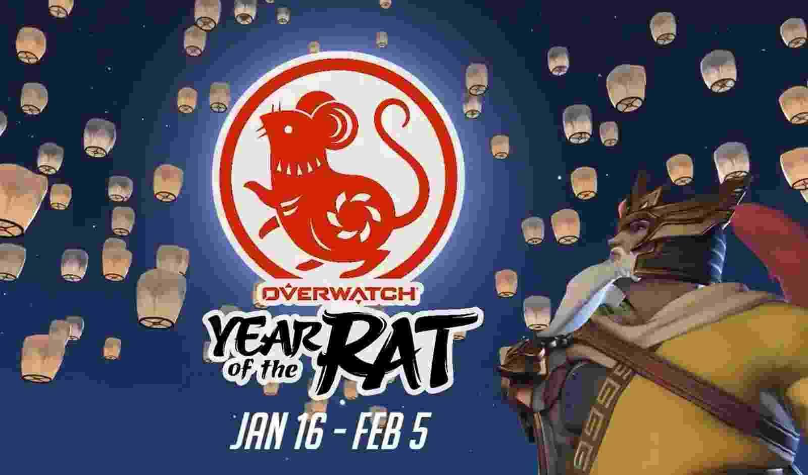 Vai até 5 de fevereiro o especial de Ano Novo Chinês do Overwatch para PlayStation 4, Xbox One, PC e Nintendo Switch - Reprodução/Overwatch