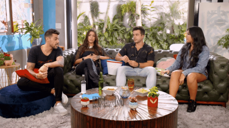 Participantes do De Férias com o Ex se reencontram no programa A Treta Não Tira Férias, spin-off do reality show da MTV - Reprodução/MTV