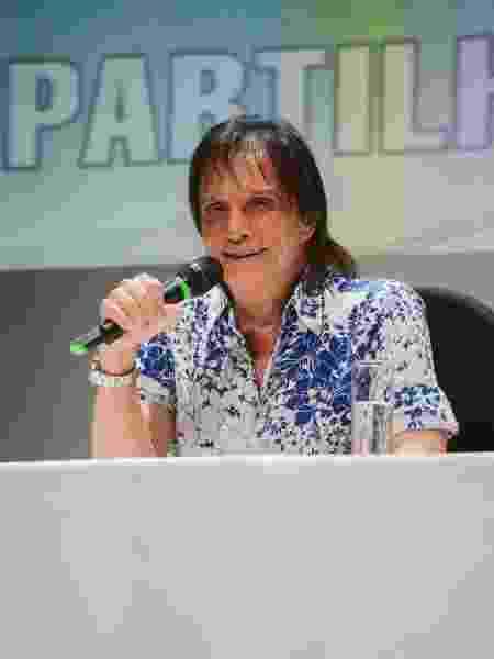 Roberto Carlos defendeu o governo do presidente Jair Bolsonaro  - Divulgação/ Filipi Dahrlan