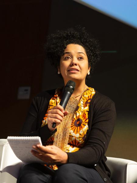 Bianca Santana é colunista de Ecoa, no UOL, e recebeu pedido de desculpa de Jair Bolsonaro na live de 5ª-feira - Arquivo Pessoal