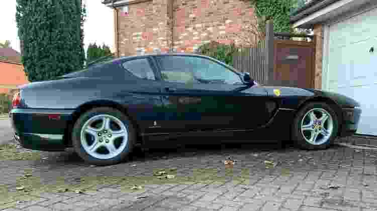 caçador de ferraris scott chivers Ferrari 456GTA 1997 lateral - Arquivo pessoal - Arquivo pessoal