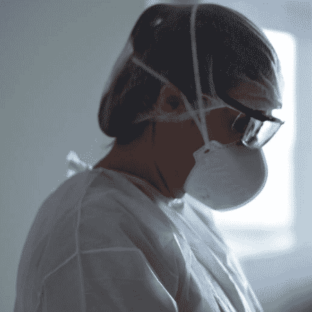 Talita Raque dos Santos, enfermeira do Hospital Universitário da USP - Karime Xavier / Folhapress