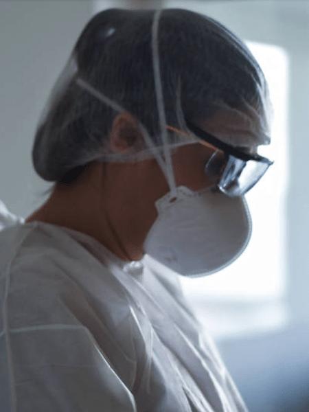 A enfermeira Talita Raque dos Santos, do Hospital Universitário da USP - Karime Xavier / Folhapress