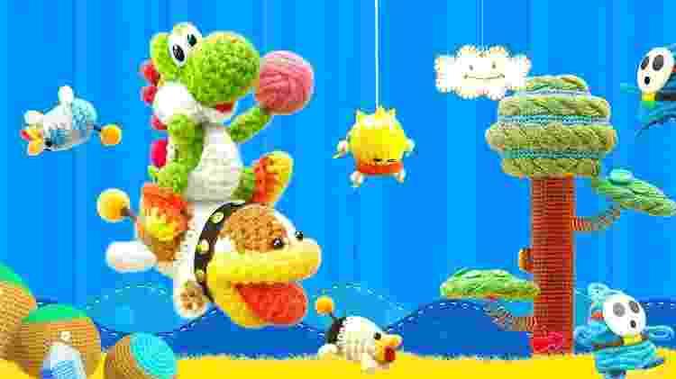 Yoshi6 - Divulgação/Nintendo - Divulgação/Nintendo
