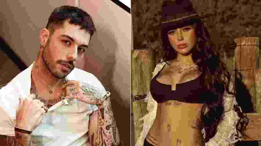 Gui Araújo, ex de Anitta, e MC Mirella, ex de Dynho Alves: quem shippa? - Reprodução/Instagram