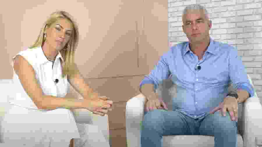 Ana Hickmann e o marido, Alexandre Correa - Reprodução/YouTube