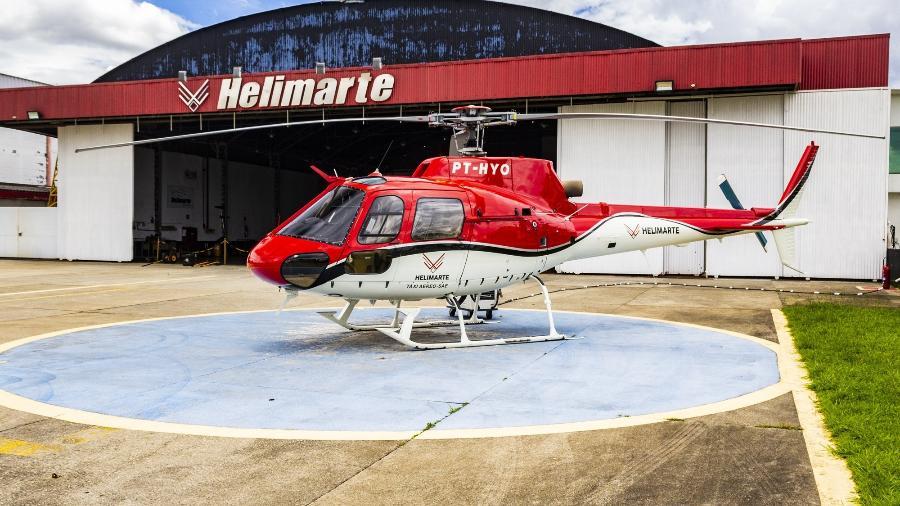 Voos de helicóptero podem ser adquiridos por preços mais baratos se o passageiro tiver flexibilidade em viajar - Alexandre Saconi