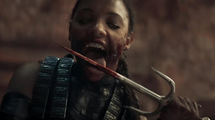 """O novo """"Mortal Kombat"""" não economiza no sangue - Reprodução/YouTube"""