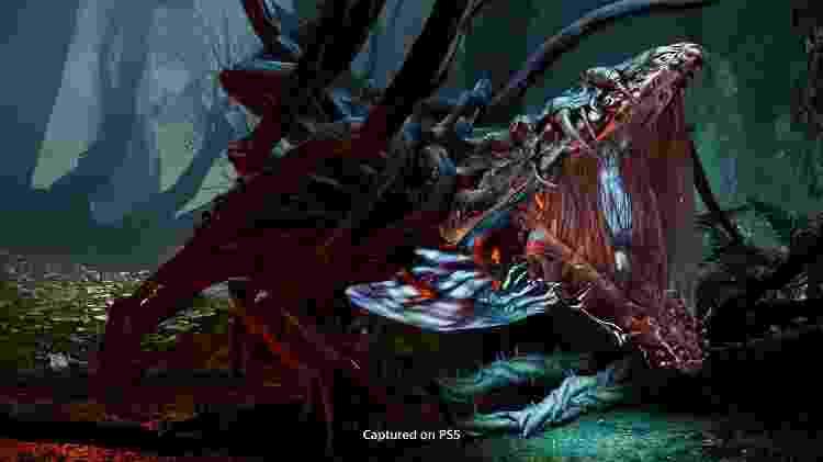 Inimigo no game Returnal, exclusivo de PS5 - Divulgação/Sony - Divulgação/Sony