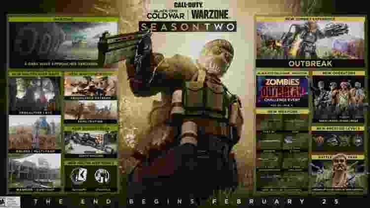 Call of Duty: Warzone - Reprodução/COD - Reprodução/COD