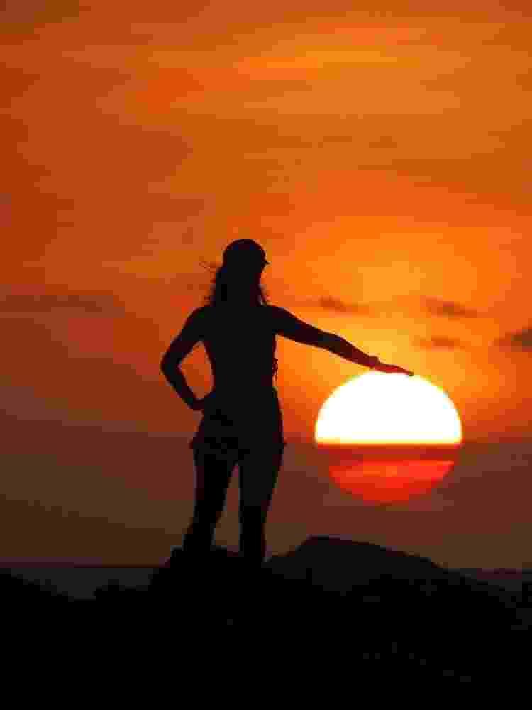 Pôr do sol na praia da Malhada, em Jericoacoara (CE) - Arquivo pessoal - Arquivo pessoal