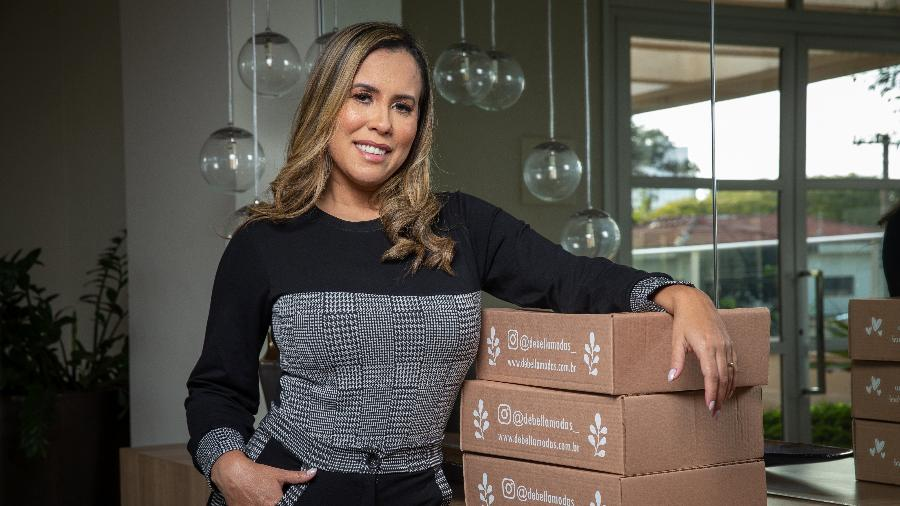"A empresária Janaina Degani Berlandi fundou a marca ""DeBella"" - Divulgação"