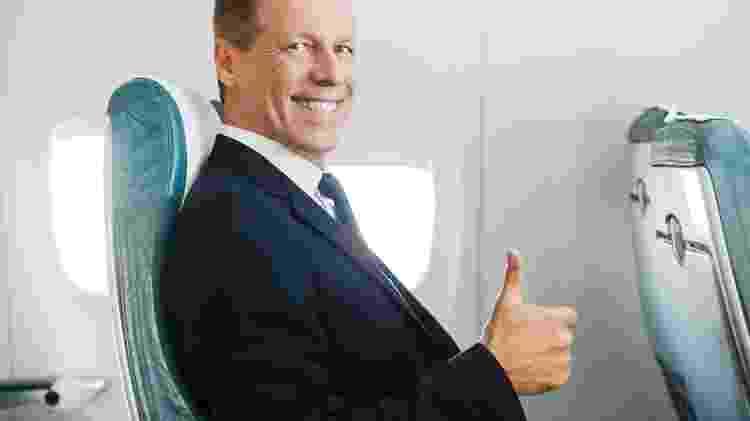 Imagem teste comportamento avião, uol viagem - resultado passageiro exemplar - Getty Images - Getty Images