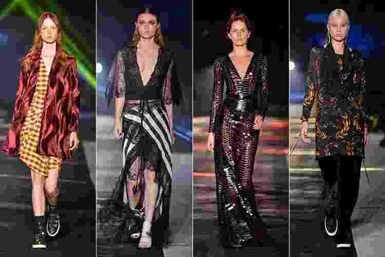 Elle Fashion Preview mostra coleções outono/inverno no Rio de Janeiro - Montagem/UOL