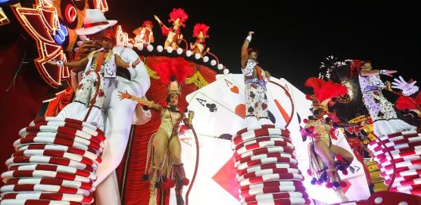 Desfile do Salgueiro no Carnaval carioca 2016 - Marcelo de Jesus/UOL