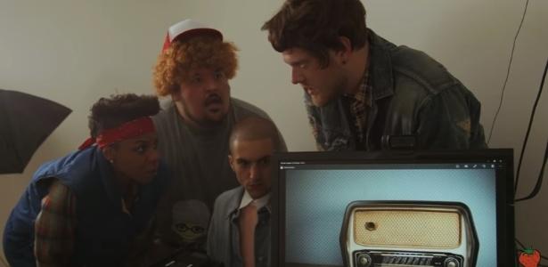 """O grupo Superfruit criou """"Stranger Fruit"""", paródia de """"Stranger Things""""  - Reprodução"""