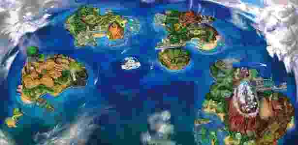 Dezenas de novas espécies de Pokémon habitam a região de Alola - Divulgação/The Pokémon Company